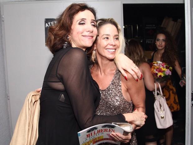 Marisa Orth e Danielle Winits em peça no Rio (Foto: Anderson Borde/ Ag. News)