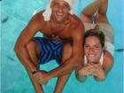 Ê vidão! Gagliasso passeia de barco com Giovanna Ewbank em Noronha