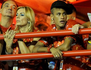 CARNAVAL: Neymar camarote sambódromo sapucaí  (Foto: André Durão / Globoesporte.com)