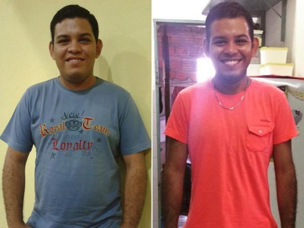 Madiel emagreceu 18 kg com mudança de alimentação, caminhada e corrida (Foto: Madiel Max Santos Coelho/Arquivo pessoal)
