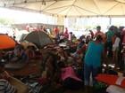 Grupo acampa na Esplanada para cobrar reforma agrária e moradia