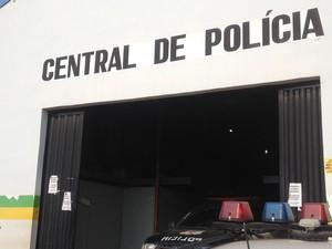 Central de Flagrantes, em Porto Velho. (Foto: Ana Kézia Gomes )