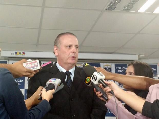 Delegado Ricardo Cysneiros (Foto: Penélope Araújo/G1)