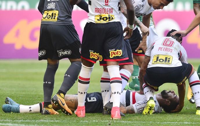 Palmeiras x São Paulo - Pratto 2 (Foto: Marcos Ribolli)