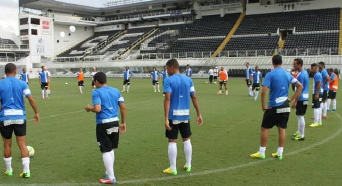 Santos treino Vila Belmiro (Foto: Vitor Pajaro / Santos FC)