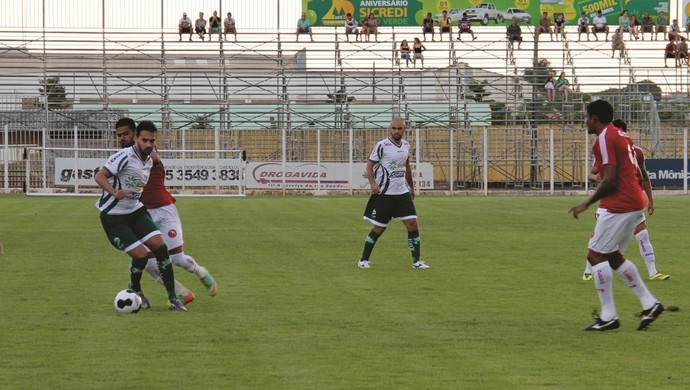 Luverdense e Brasília pela Copa Verde no estádio Passo das Emas (Foto: Assessoria/Luverdense Esporte Clube)