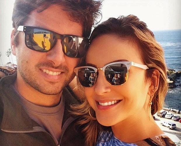 Claudia garante que o maridão Márcio Pedreira não sente ciúmes (Foto: Arquivo Pessoal)