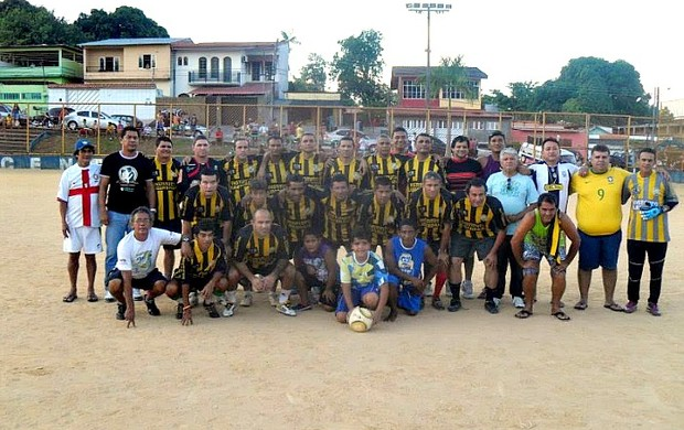 Vila Nova campeã do Master da Liga do Aleixo em 2011 (Foto: Liga do Aleixo/Divulgação)
