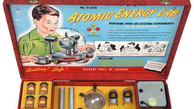 Brinquedo Atomic Energy Lab (Foto: Reprodução)