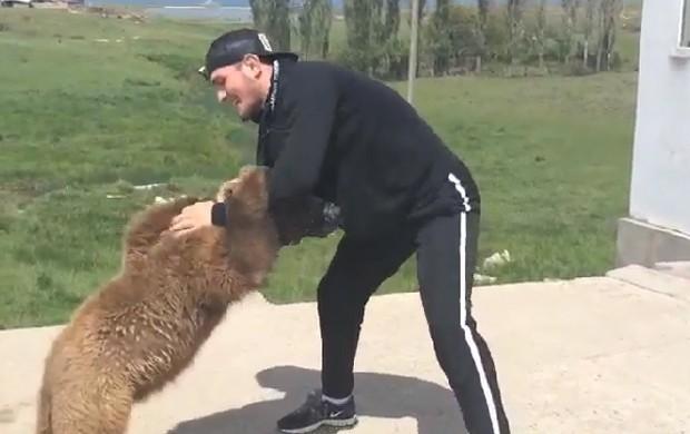 urso Nurmagomedov mma ufc (Foto: Reprodução )