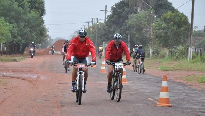 Segunda etapa do estadual de mountain bike em MS (Foto: Emily Marjoire/FMSC)