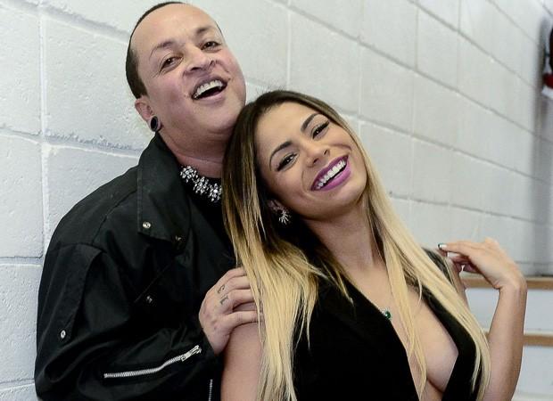 Lexa e Walério Araújo (Foto: Francisco Cepeda/AgNews)
