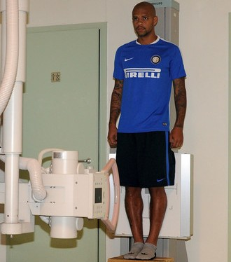 Felipe Melo Inter de Milão (Foto: Divulgação / Inter de Milão)