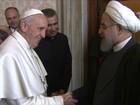 Presidente iraniano pede para Papa Francisco rezar por ele