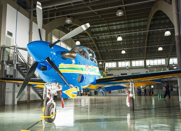 novo avião esquadrilha da fumaça (Foto: Sgt Johnson Barros/Agência Força Aérea)