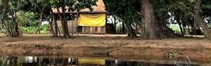 Rio Paraguai garante sustento a famílias ribeirinhas (Reprodução/TV Morena)