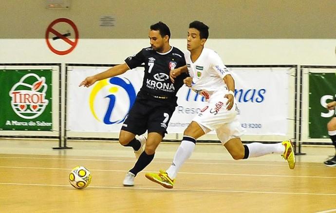 futsal, Concórdia x Joinville (Foto: Ricardo Artifon / ACF)