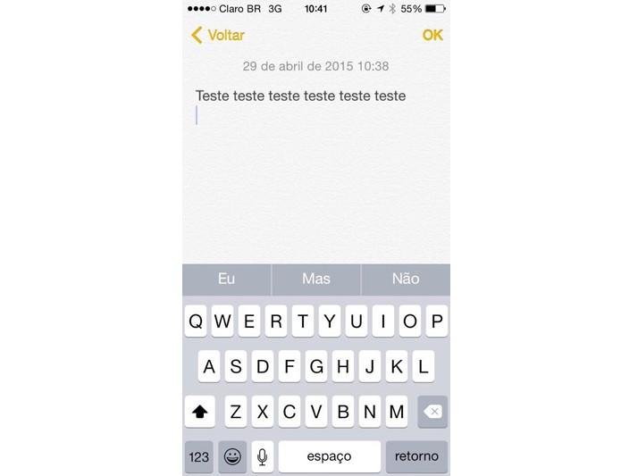 Snapchat 1 (Foto: Reprodução/Maria Clara Pestre)