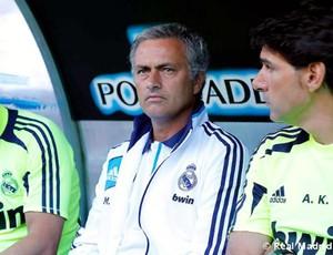 José Mourinho Real Madrid (Foto: Reprodução / Site Oficial do Real Madrid)