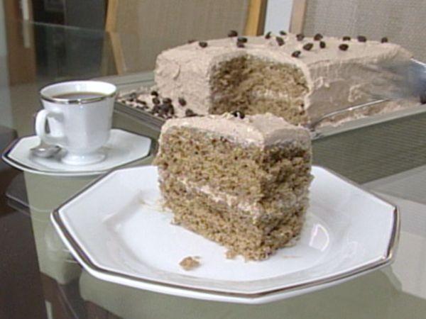 Bolo de café: anote a receita (Foto: Reprodução/TV Gazeta)