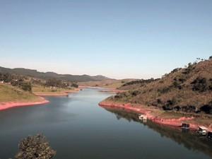 Bombeiros encontram corpo de homem na represa de Redenção (Foto: Reprodução/ TV Vanguarda)