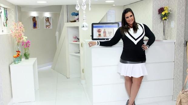 Clariça De Luca começou vendendo peças para suas amigas (Foto: Divulgação)