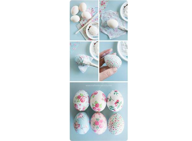 1-decoracao-ovos-de-pascoa-pinterest-florais (Foto: Pinterest)