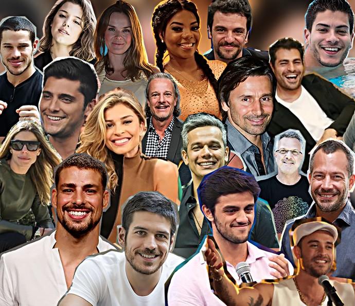 Atores que já foram atletas (Foto: TV Globo)