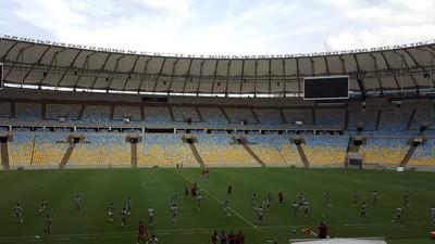 Treino Fluminense Maracanã (Foto: Hector Werlang)