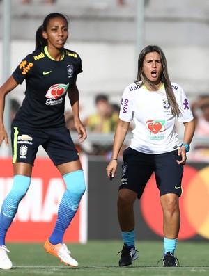 Emily Lima técnica seleção brasileira de futebol feminino