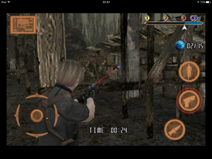Modo Coin Shoot em Resident Evil 4 (Foto: Reprodução/Felipe Vinha)