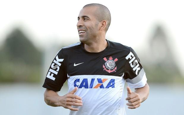 Emerson treino Corinthians (Foto: Mauro Horita )