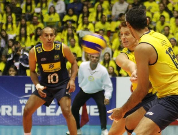 Murilo Liga Mundial vôlei (Foto: Alexandre Arruda/CBV)