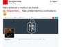 Felipe Melo bloqueia Íbis no Twitter, e clube rebate atitude com provocação