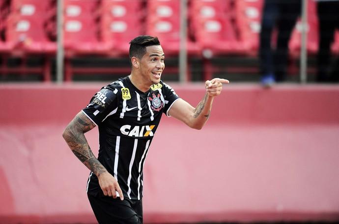 São Paulo X Corinthians - Luciano comemorando gol (Foto: Marcos Ribolli)