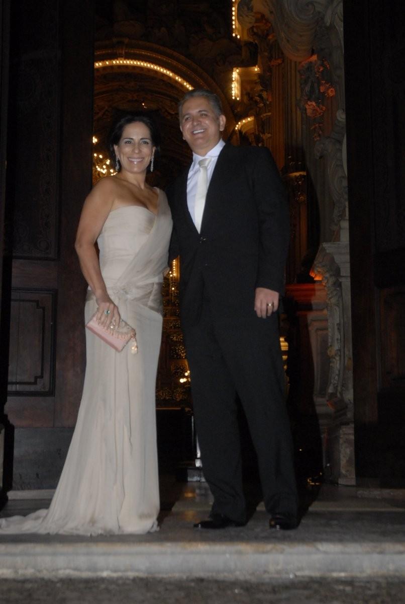 Gloria Pires e Antonio Morais (Foto: Roberto Valverde/Revista QUEM)