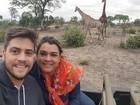 Marido de Preta Gil rebate provocação na web e ironiza: 'Ela me banca'