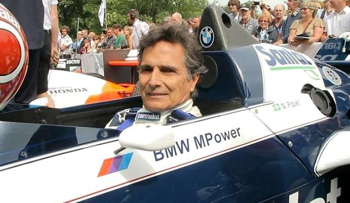Piquet pilota Brabham a convite de BMW (Foto: Divulgação)