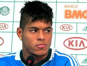 Leandro coletiva Palmeiras (Foto: Gustavo Serbonchini)