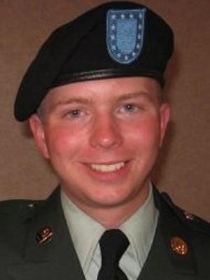 O soldado americano Bradley Manning em foto não datada. (Foto: AP)