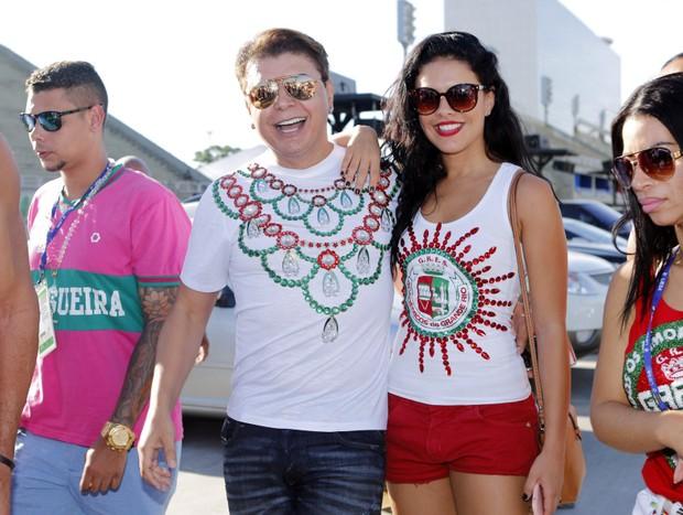Paloma Bernadi e Daivid Brazil (Foto: Marcos Serra Lima / Ego)