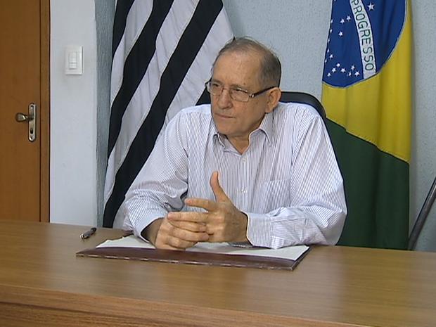 José Antônio Furlan (Foto: Reprodução/TV Fronteira)
