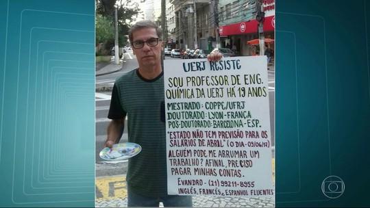 Professor da Uerj recusa oferta após pedir emprego em cartaz: 'Amo o que faço aqui'