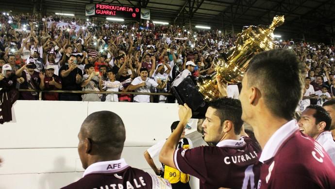 Ferroviária x Guarani Série A2 (Foto: Leonardo Fermiano/Site AFE)