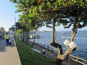 População de Cananéia, SP, quer que novo prefeito invista mais em Turismo (Foto: Anna Gabriela Ribeiro/G1)