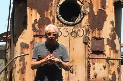 Fernando Gabeira contará a história da estação Leopoldina na GloboNews (Foto: Divulgação)