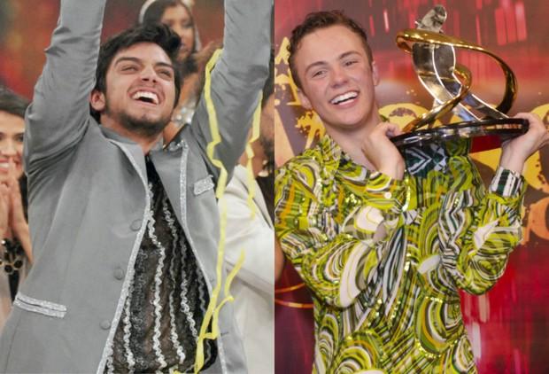 Rodrigo Simas e Miguel Roncato falam sobre seus favoritos para a final do Dança dos Famosos (Foto: TV Globo / Divulgação)