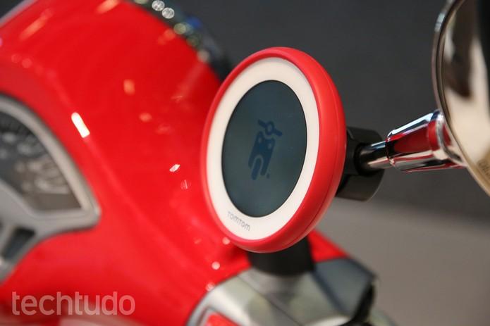GPS Tomtom para scooters (Foto: Fabrício Vitorino/TechTudo)