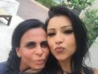 Jenny Miranda se separa e irá morar na Europa com a mãe, Gretchen