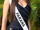 Kelly Baron, do 'BBB13', já foi musa do Coritiba e Miss Paraná